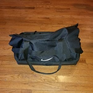 Nike Duffle Bag / Travel Bag Hard Bottom